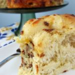 Serve this Bacon, Egg and Cheese Savory Breakfast Bundt for Brunch
