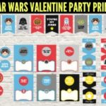Star Wars Valentine Party Printables