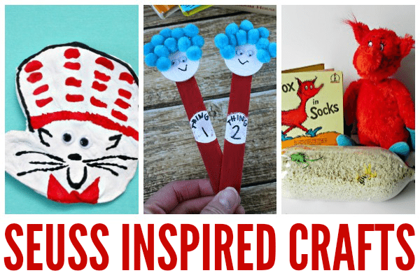 dr. seuss inspired crafts