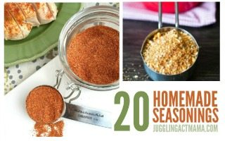 Homemade Seasoning Mixes and Spice Blends