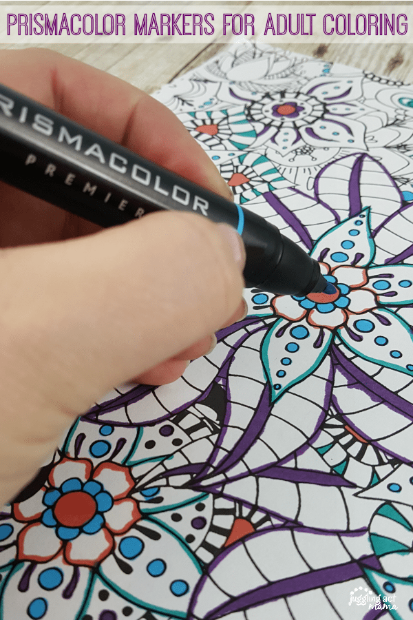 Look for gorgeous @pinprismacolor pencils and markers for adult coloring printables at @michaelsstores, and get coupons in newspapers & online from @michaelsstores#relaxandcolor #ColoringwithMichaels #PMedia #ad
