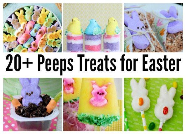 20+ Peeps Treats for Easter