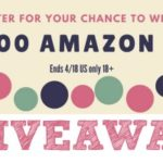 April Amazon Gift Card Giveaway