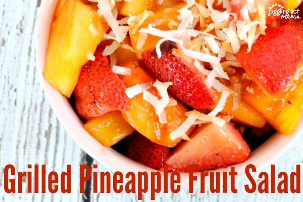 Grilled Pineapple Recipe for Fruit Salad