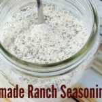 Homemade Ranch Seasoning Mix