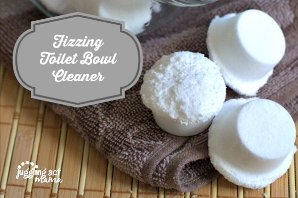Homemade Fizzing Toilet Bowl Cleaner
