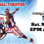 Harlem Globetrotters in Lowell, Mass! FLASH GIVEAWAY!