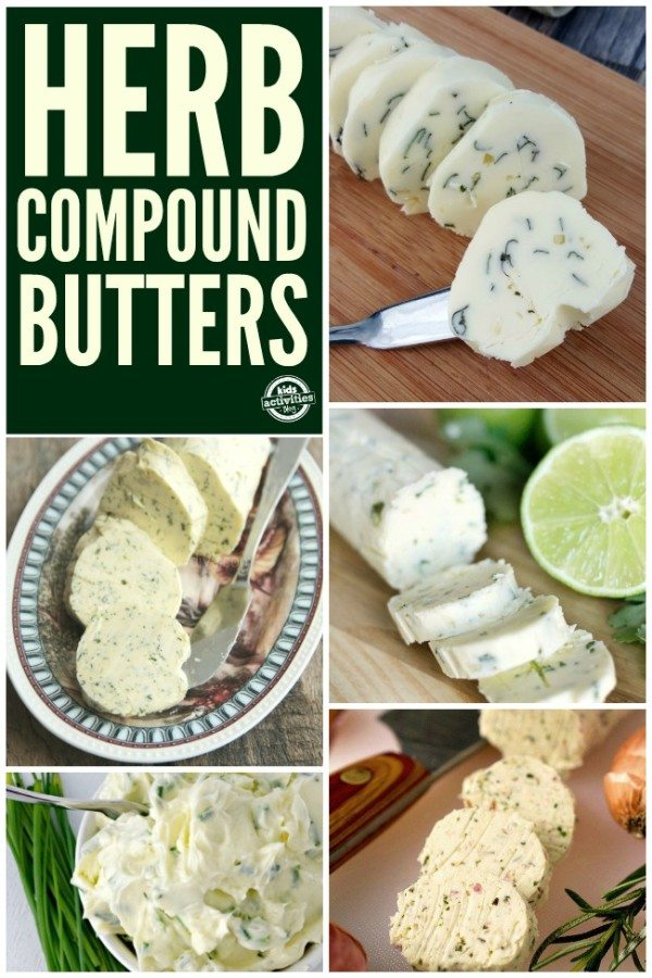 Herb Compound Butter Recipes
