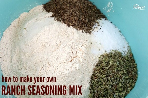 How to make your own homemade ranch seasoning mix
