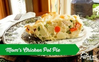 Mom's Chicken Pot Pie