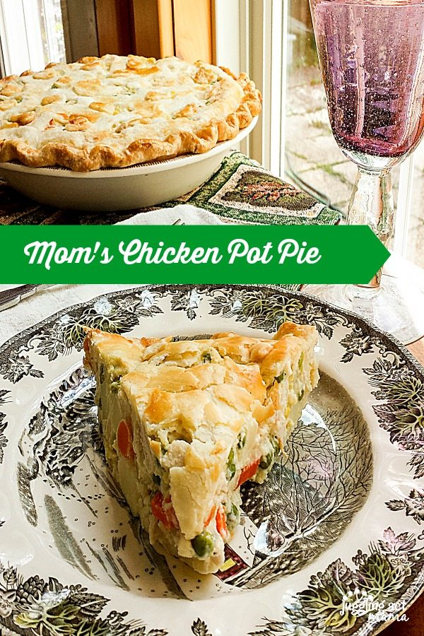 Mom's Chicken Pot Pie via Juggling Act Mama 600900