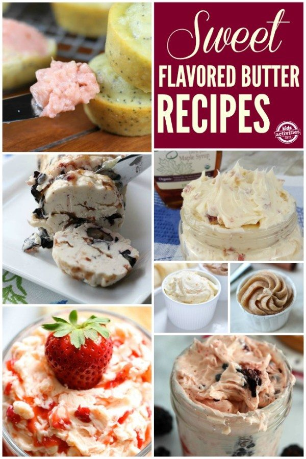 Sweet Flavored Butter Recipes perfect for breakfast