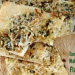 Tarragon and Walnut Pesto Flatbread Appetizer