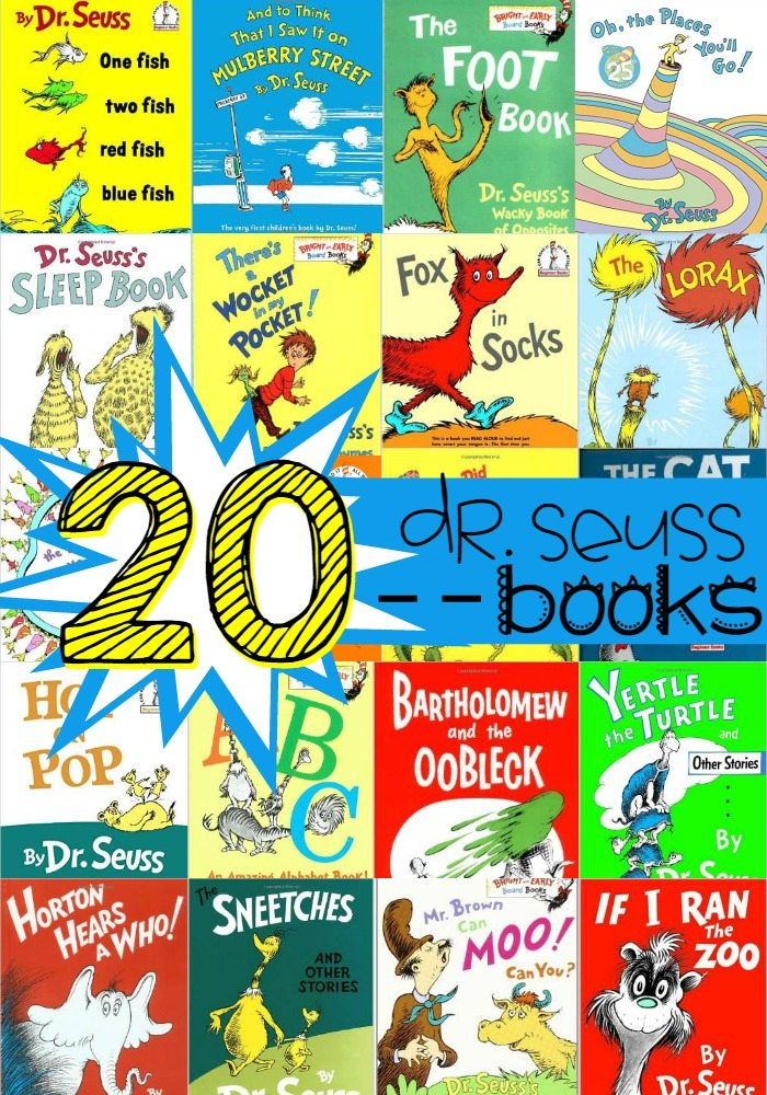 20 Must Have Dr Seuss Books