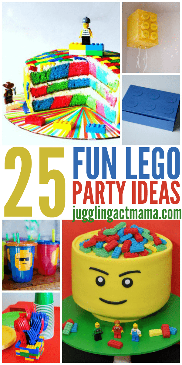 25 Fun LEGO Party Ideas for Kids