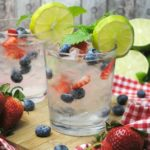 A crisp cool Berry White Wine Spritzer is the perfect Summer cocktail for entertaining. You can't go wrong with fresh berries, white wine and a slash of Vodka!