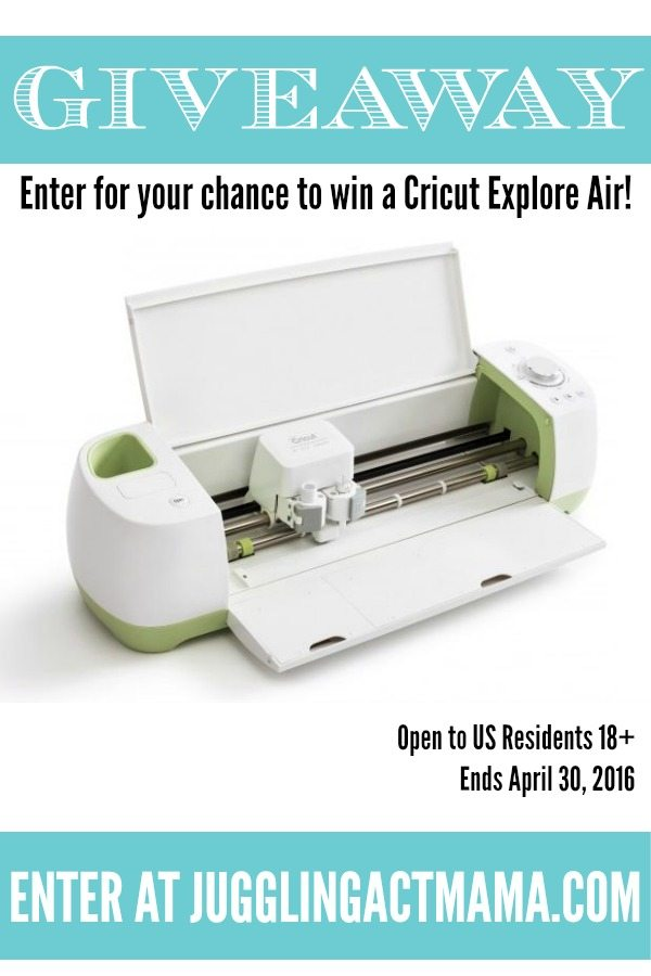 April Cricut Giveaway
