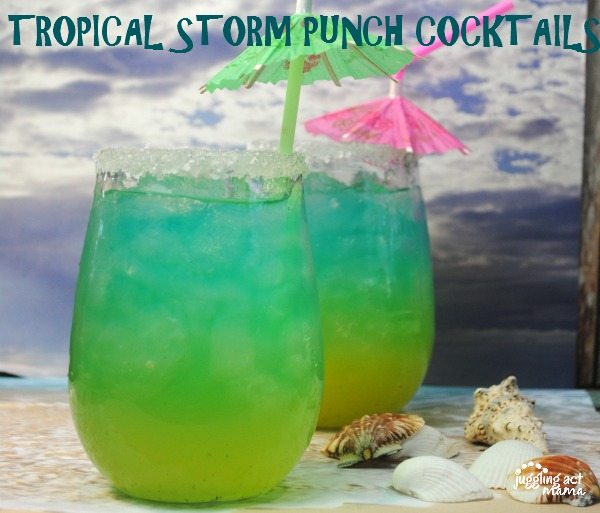 Tropical Storm Drink Recipe
