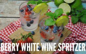 Berry White Wine Spritzer