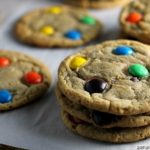 Brown Sugar M and M Cookies