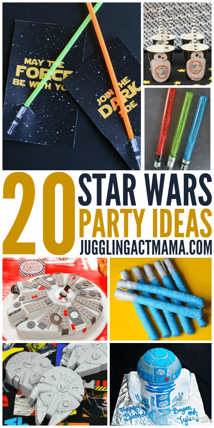 20 Best Star Wars Party Ideas in the Galaxy