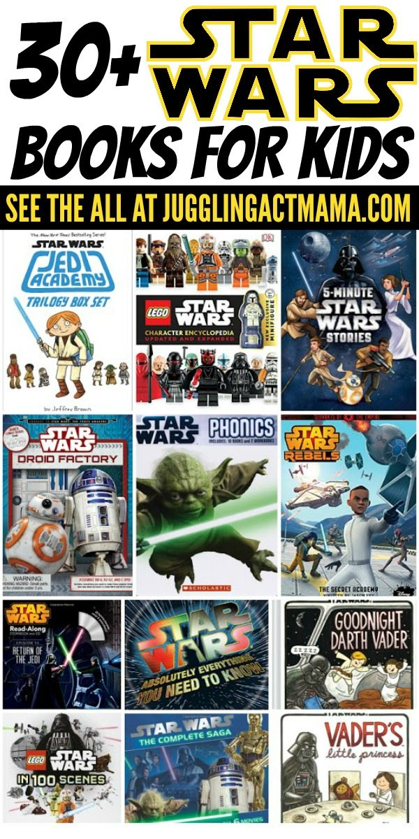 30 Star Wars Books for Kids