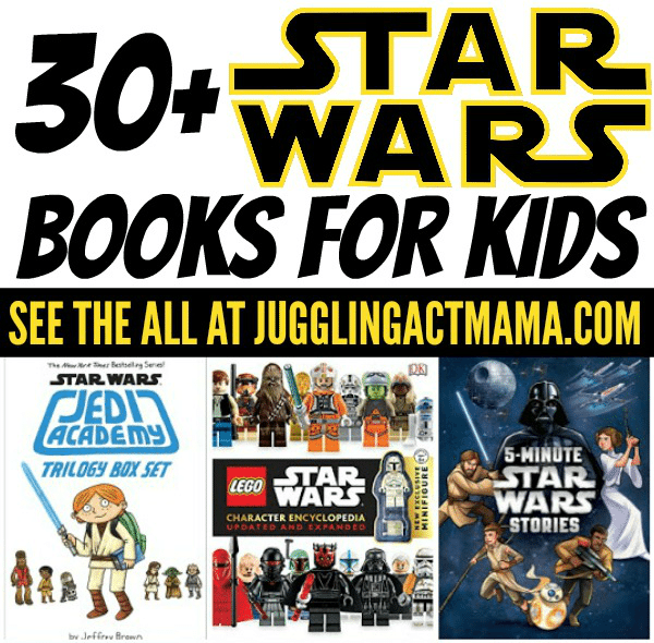 May the Fourth be with you with these fantastic Star Wars Books for kids!