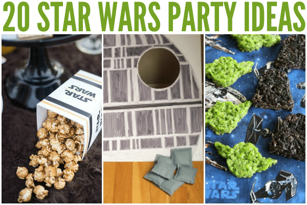 Star Wars Party Ideas Horizontal