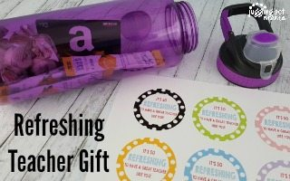 Refreshing Teacher Gift Idea