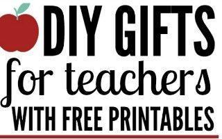 DIY Gift Ideas for Teacher Appreciation