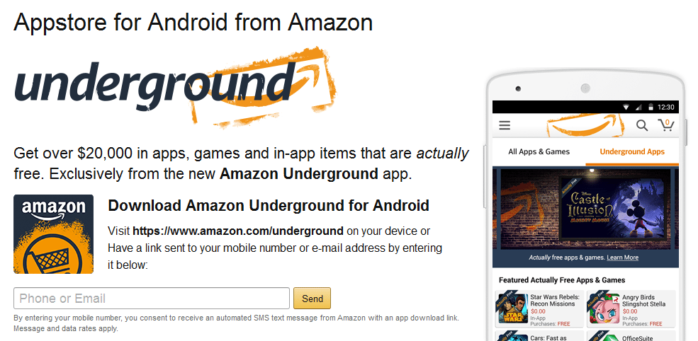 Stop the Summer Slide with Amazon Underground Best Apps For