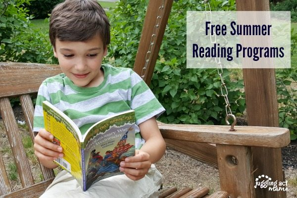 Free Summer Reading Programs 2016