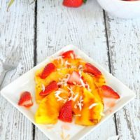 Grilled Pineapple Fruit Salad