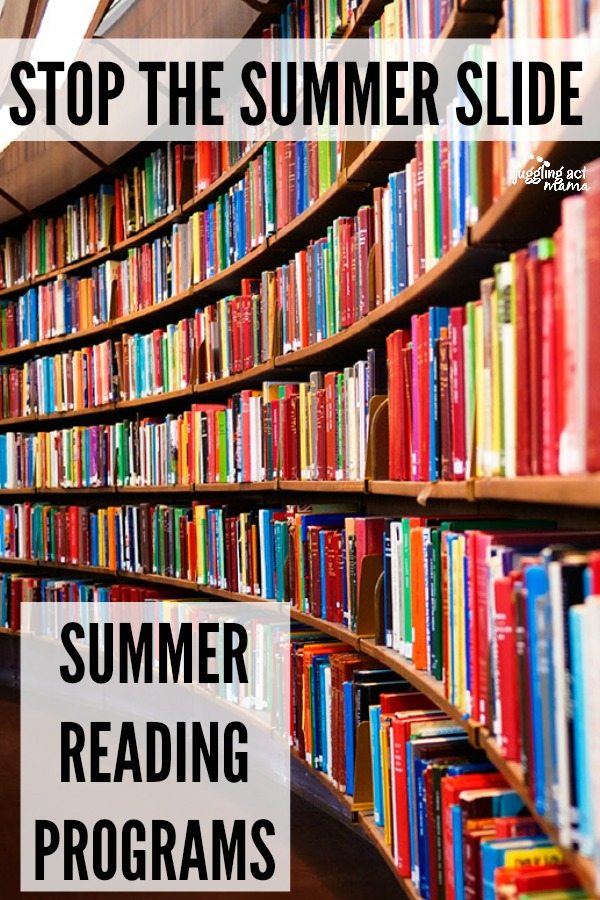 Don't forget to check out your local libraries to find out which programs they'll be offering this summer.