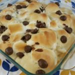Smores Pull Apart Bread with Rhodes Bread #sponsored