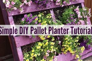 feature Simple DIY Pallet Planter Tutorial