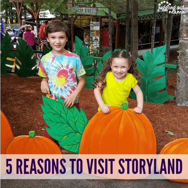 5 REASONS TO VISIT STORYLAND NH