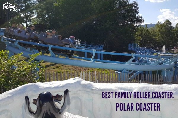 5 Reasons to Visit StoryLand, Polar Coaster #WhiteMountains #Sponsored #StoryLand #MyStoryLandAdventure #NH