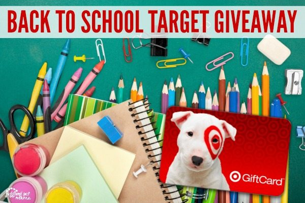 Target Back to School Giveaway