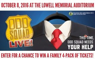 Odd Squad LIVE! at Lowell Memorial Auditorium