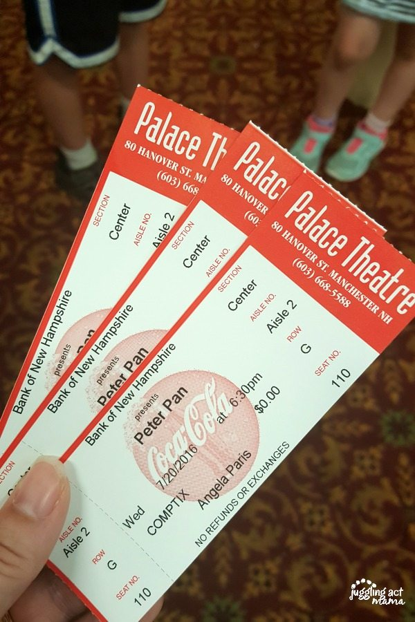 Palace Theater Summer Childrens Series Presents Peter Pan #sponsored