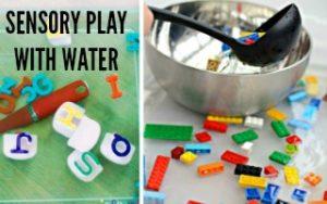 Sensory Water Play Ideas