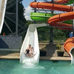 Twister Water Slide at Candia Springs Adventure Park
