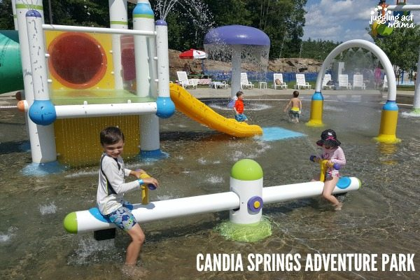 Candia Springs Adventure Bay splash pad