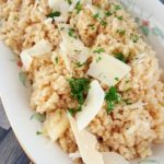 Quick Rice Cooker Parmesan Risotto