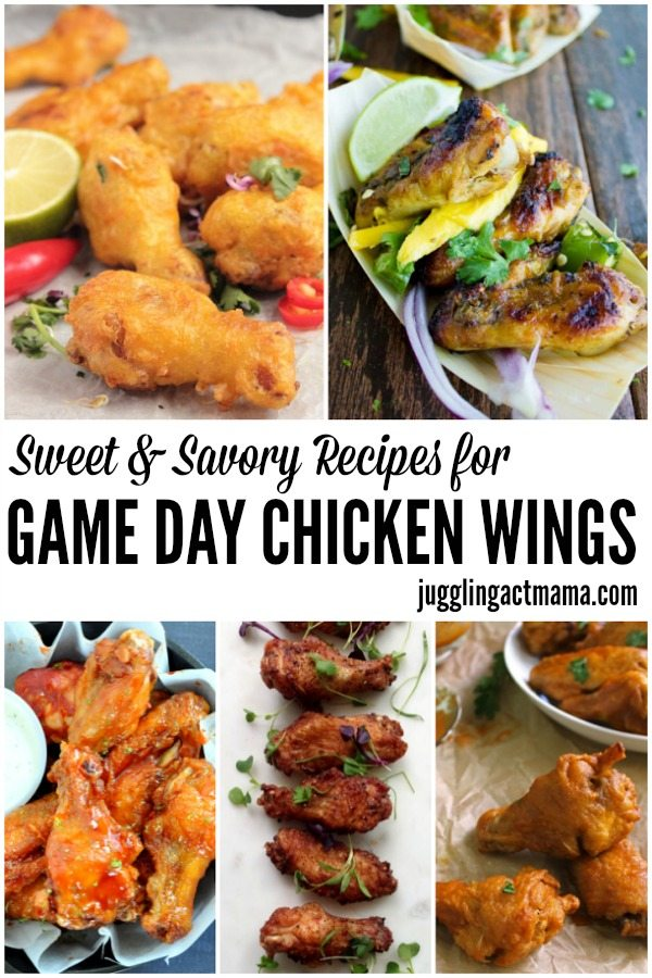 Sweet and Savory Recipes for Game Day Wings