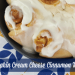 Pumpkin Cream Cheese Cinnamon Rolls