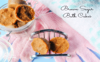 Brown Sugar Bath Cakes