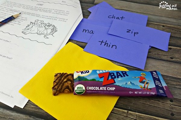 healthy snacks for actie kids #ad