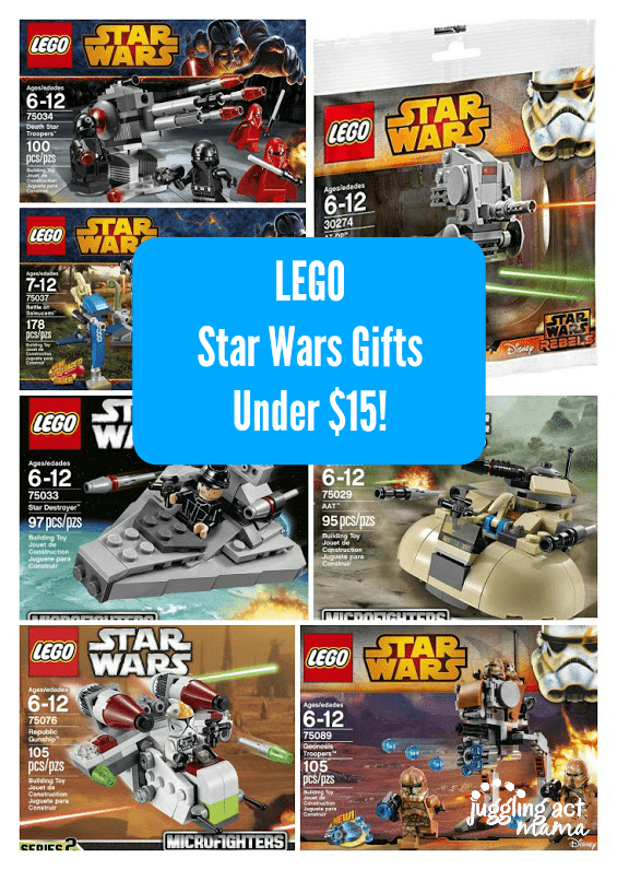 Lego Star Wars Gifts Under $15